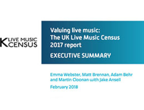 UK Live Music Census 2017