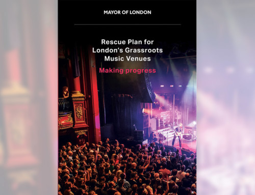Rescue Plan for London's Grassroots Music Venues – Making Progress