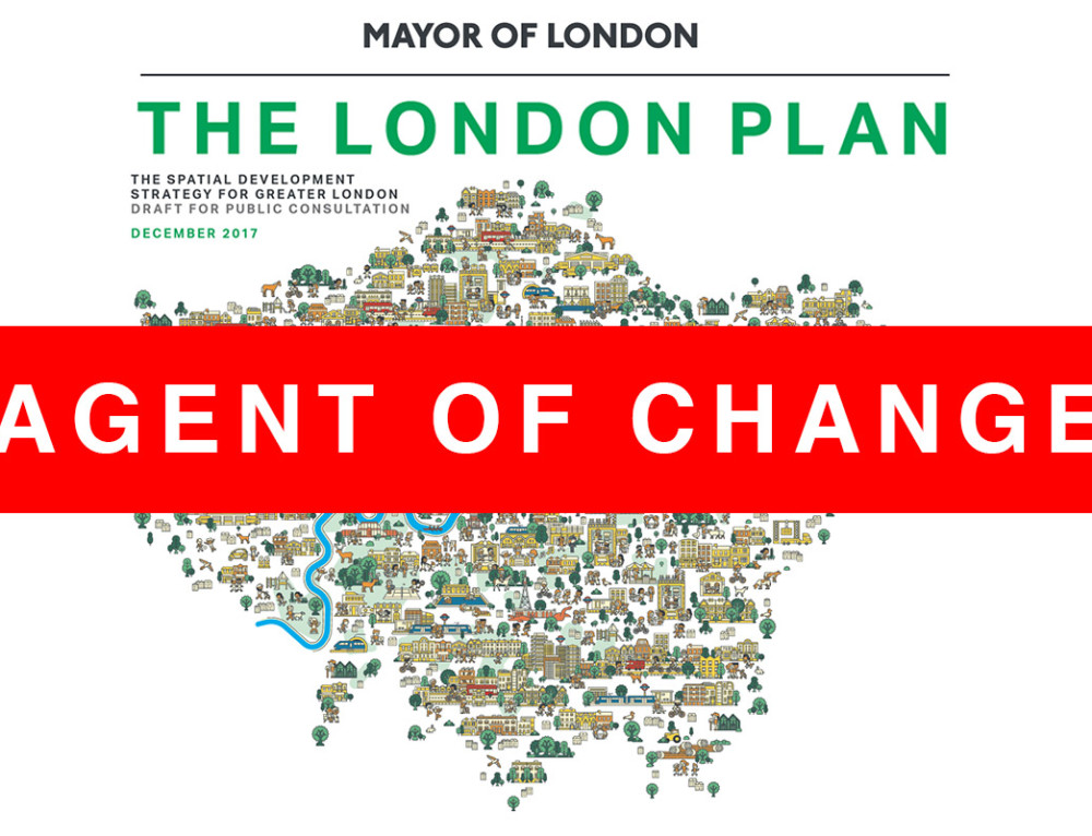 Agent Of Change is Policy D12 in London Plan 2018