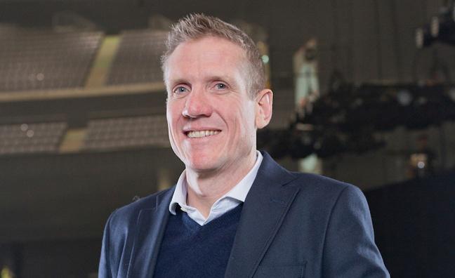 John Langford, COO of AEG Europe