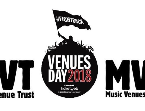Venues Day 2018 is SOLD OUT