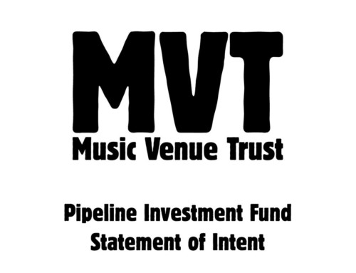 Music Venue Trust Launches Pipeline Investment Fund Challenge