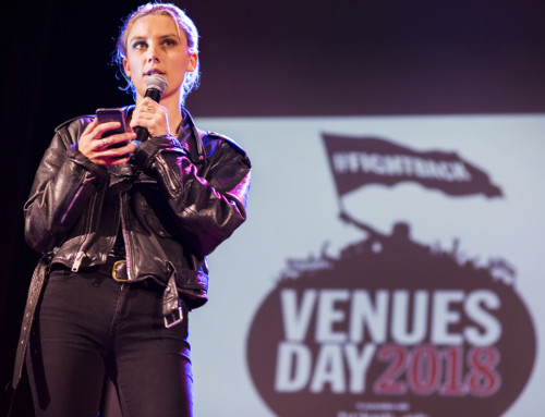 Venues Day 2018 welcoming speech – Ellie Rowsell from Wolf Alice