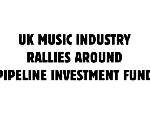 Music Industry Rallies Around Pipeline Investment Fund