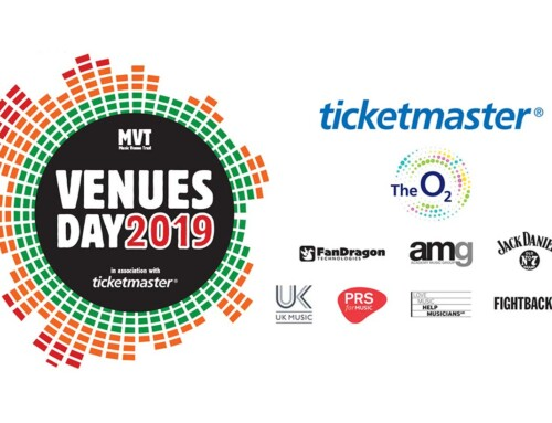 Venues Day 2019 Partners Announced and Tickets on Sale