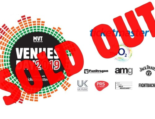 Venues Day 2019 SOLD OUT
