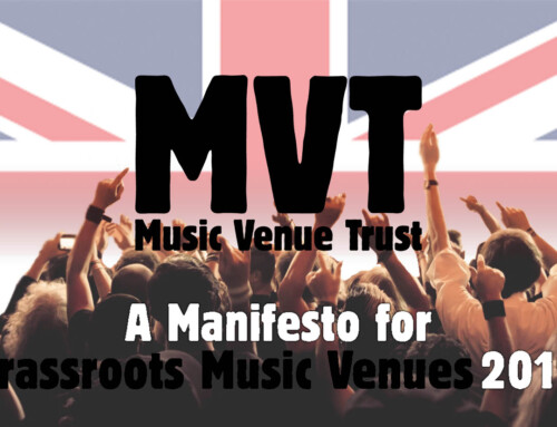 A Manifesto for Grassroots Music Venues 2019
