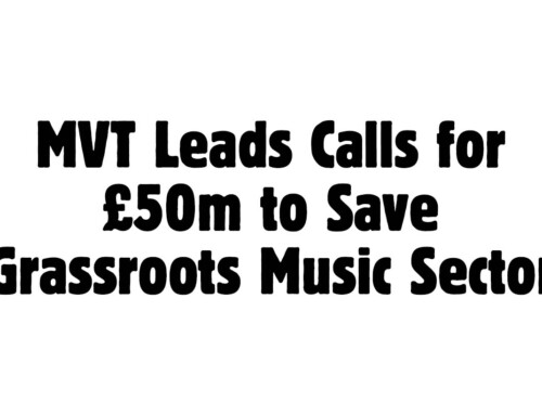 Music Venue Trust Leads Calls for £50m to Save Grassroots Music Sector